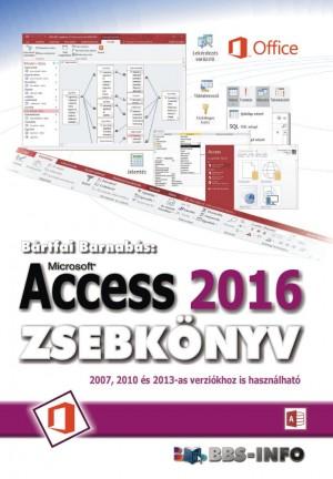 B�rtfai Barnab�s - Access 2016 zsebk�nyv