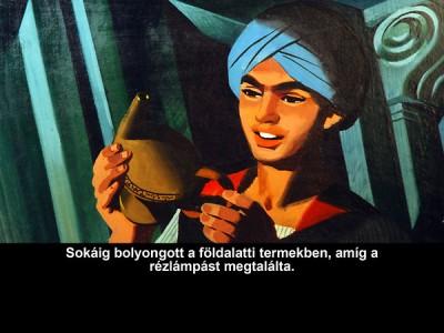 - Aladdin és a csodalámpa - Diafilm