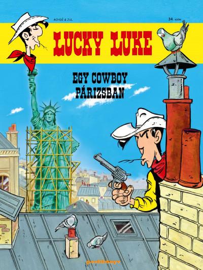 - Lucky Luke 34. - Egy cowboy Párizsban