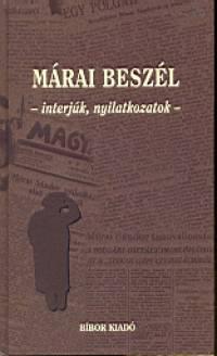 Méhes László  (Szerk.) - Márai beszél