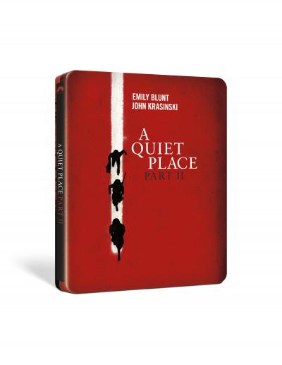 John Krasinski - Hang nélkül 2. - limitált, fémdobozos Blu-ray