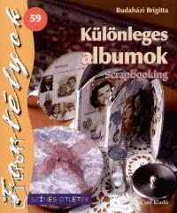 Budaházi Brigitta - Különleges albumok - Scrapbooking