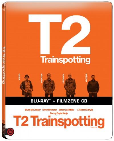 Danny Boyle - T2 Trainspotting - Blu-ray+filmzene CD (limitált, fémdobozos változat)