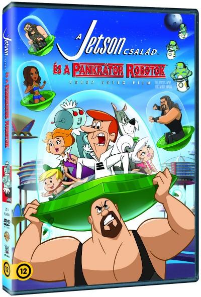 Anthony Bell - A Jetson család és a pankrátor robotok - DVD