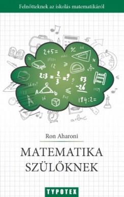 Aharoni Ron - Matematika szülőknek