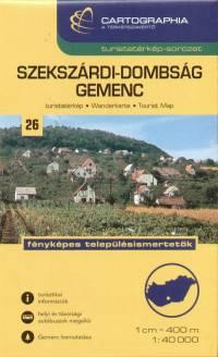 - Szekszárdi-dombság - Gemenc turistatérkép