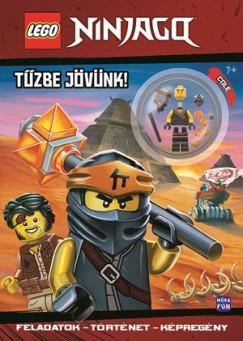 - LEGO Ninjago - Tűzbe jövünk!
