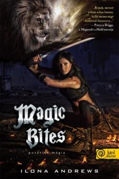 Ilona Andrews - Pusztító mágia - kemény kötés