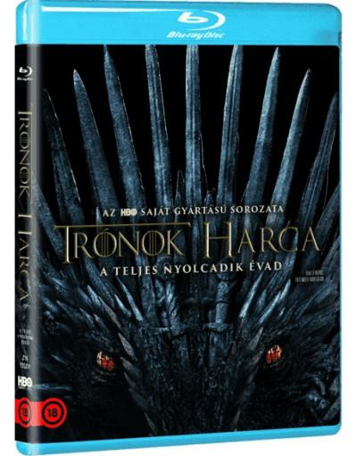 Több Rendező - Trónok harca 8. évad - Műanyagtokos kiadás - Blu-ray