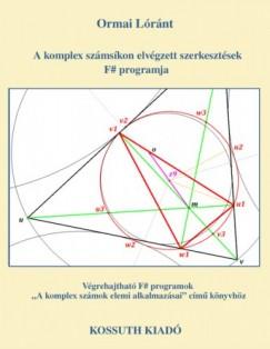 Lóránt Ormai - A komplex számsíkon elvégzett szerkesztések F; programja