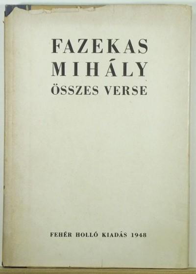 Fazekas Mihály - Fazekas Mihály összes verse