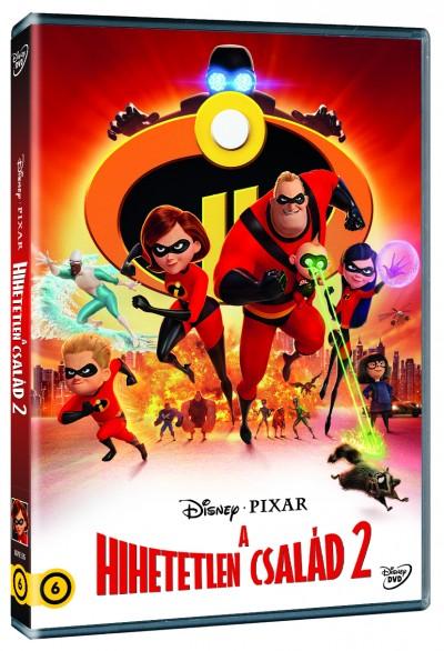 Brad Bird - Hihetelen család 2 - DVD