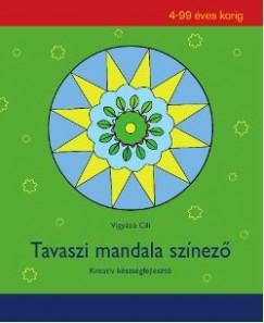 Vigyázó Cili - Tavaszi mandala színező