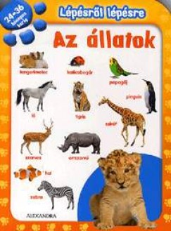- Lépésről lépésre: Az állatok