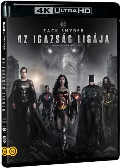 Zack Snyder - Zack Snyder: Az Igazság Ligája (2021) - 2db 4K Ultra HD Blu-ray