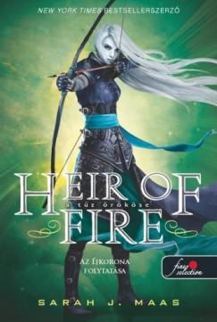 Sarah J. Maas - Heir of Fire - A tűz örököse (Üvegtrón 3.) - kemény kötés