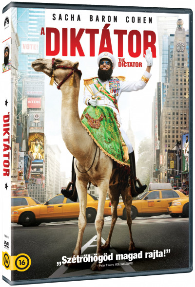 Larry Charles - A diktátor - DVD