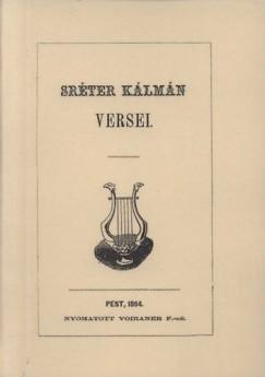 Sréter Kálmán - Sréter Kálmán versei