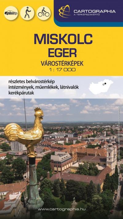 - Miskolc-Eger várostérkép 1:17000