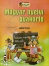 Komáromi Ferencné - Magyar nyelvi gyakorló 4 o.