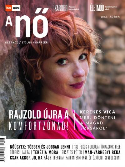 Szörnyi Krisztina  (Szerk.) - HVG Extra Magazin - A NŐ 2018/3