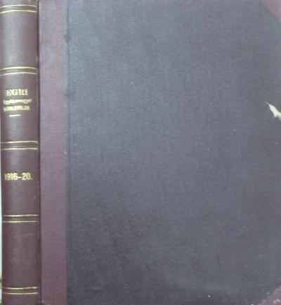 - Egri Egyházmegyei Körlevelek 1916-1920