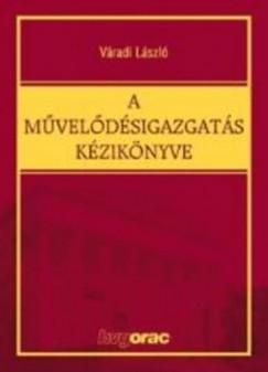 Dr. Váradi László - A művelődésigazgatás kézikönyve