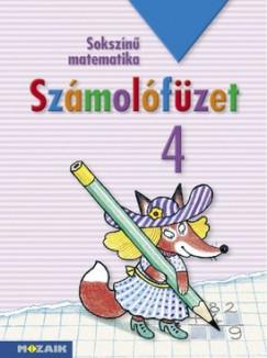 Árvainé Libor Ildikó - Lángné Juhász Szilvia - Szabados Anikó - Sokszínű matematika - Számolófüzet 4. osztály