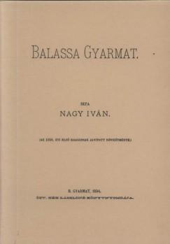Nagy Iván - Balassa Gyarmat