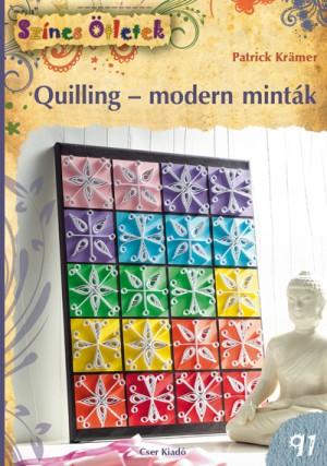 Patrick Kr�mer - Quilling - modern mint�k
