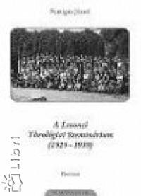 Puntigán József - A Losonci Theológiai Szeminárium (1925-1939)