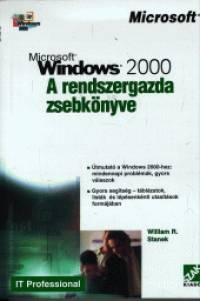 William R. Stanek - Windows 2000 - A rendszergazda zsebkönyve
