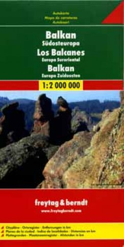 - Balkan, Südost Europa - 1:2 000 000