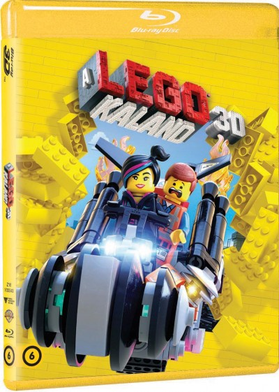 Phil Lord - Christopher Miller - A Lego kaland - 3D Blu-ray