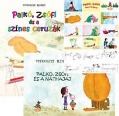 Vitkolczi Ildikó - Palkó, Zsófi csomag ajándék matricával