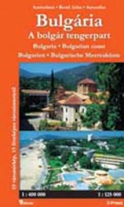 - Bulgária és a bolgár tengerpart atlasza