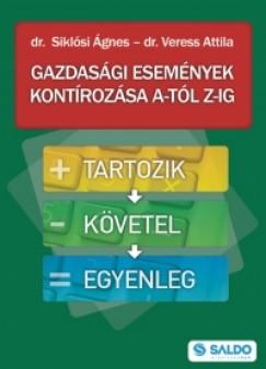 Dr. Siklósi Ágnes - Veress Attila - Gazdasági események kontírozása A-tól Z-ig