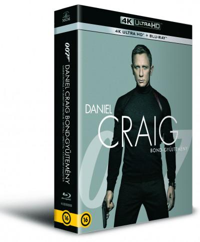 Martin Campbell - Marc Forster - Sam Mendes - James Bond - Daniel Craig Bond-gyűjtemény - 4 Ultra HD + 4 Blu-ray