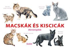 - Macskák és kiscicák - Memóriajáték