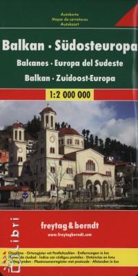 - Balkán, Délkelet-Európa 1:2 000 000
