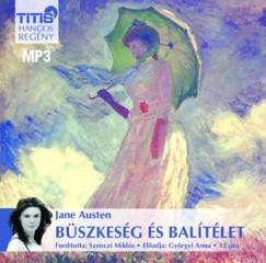 Jane Austen - Györgyi Anna - Büszkeség és balítélet - Hangoskönyv MP3