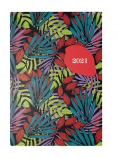 - Piros-zöld B/6 heti naptár - 2021