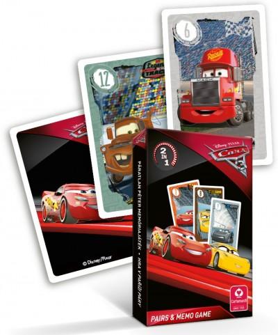 - Cars 3. mini Fekete Péter és memória kártya