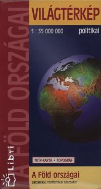 - A föld országai világtérkép - politikai