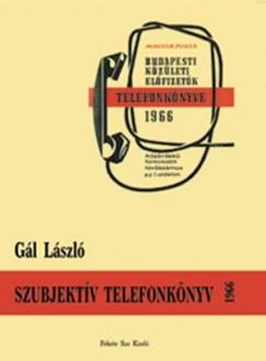 Gál László - Szubjektív telefonkönyv 1966