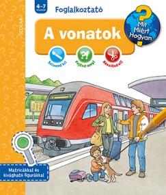 Elke Broska - Dominique Conte - A vonatok - Mit? Miért? Hogyan? Foglalkoztató