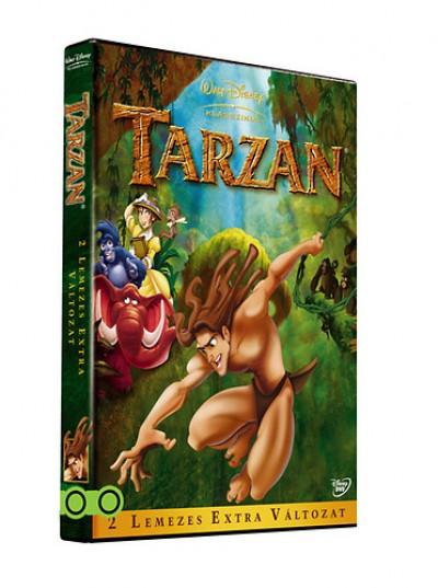 Chris Buck - Kevin Lima - Tarzan - 2 lemezes extra változat - DVD