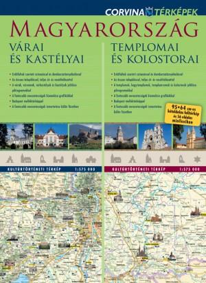 - Magyarorsz�g v�rai �s kast�lyai - Magyarorsz�g templomai �s kolostorai  (du�t�rk�p)
