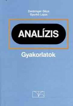 Denkinger Géza - Gyurkó Lajos - Analízis gyakorlatok