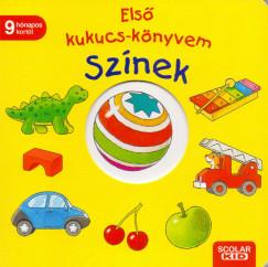 Klaus Bliesener - Első kukucs-könyvem - Színek